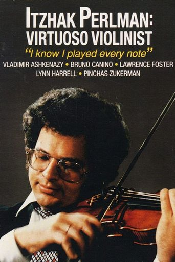 Itzhak Perlman: Virtuoso Violinist Poster
