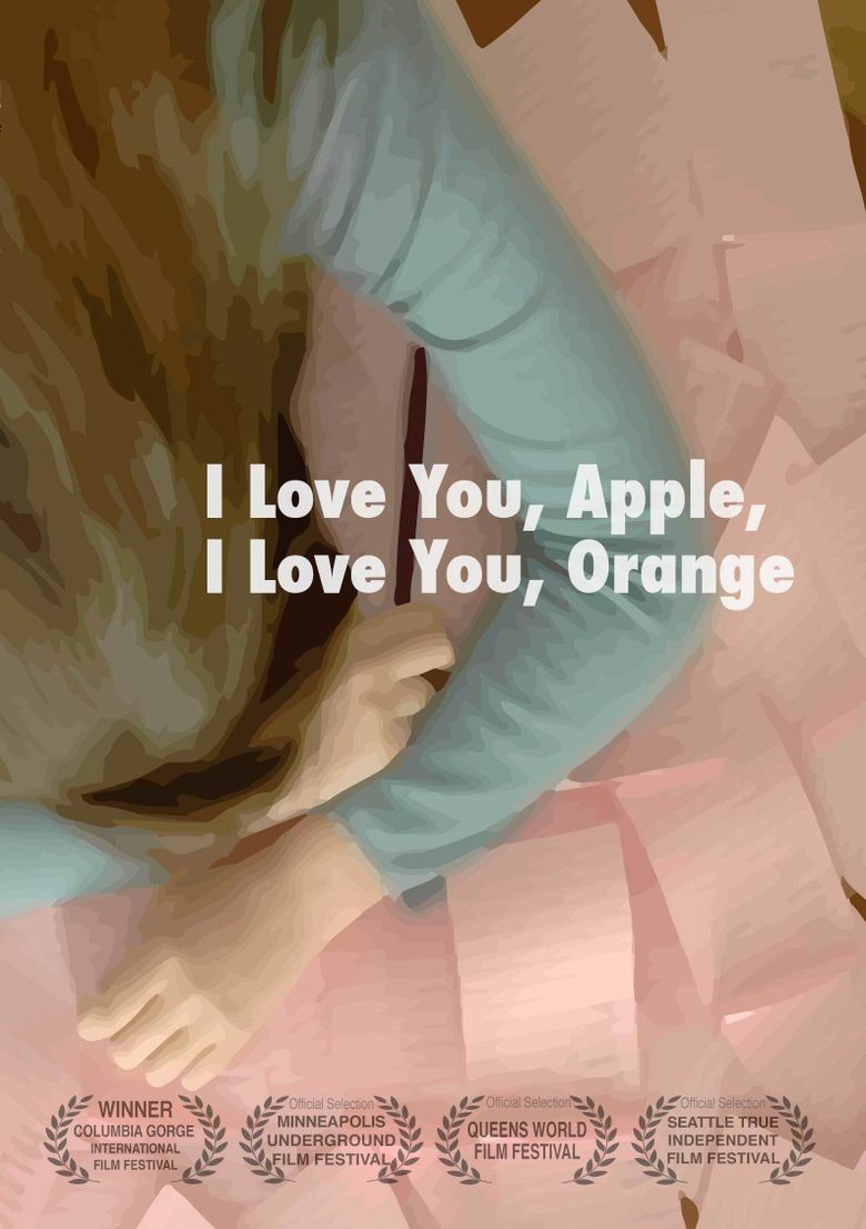 I Love You, Apple, I Love You, Orange Poster