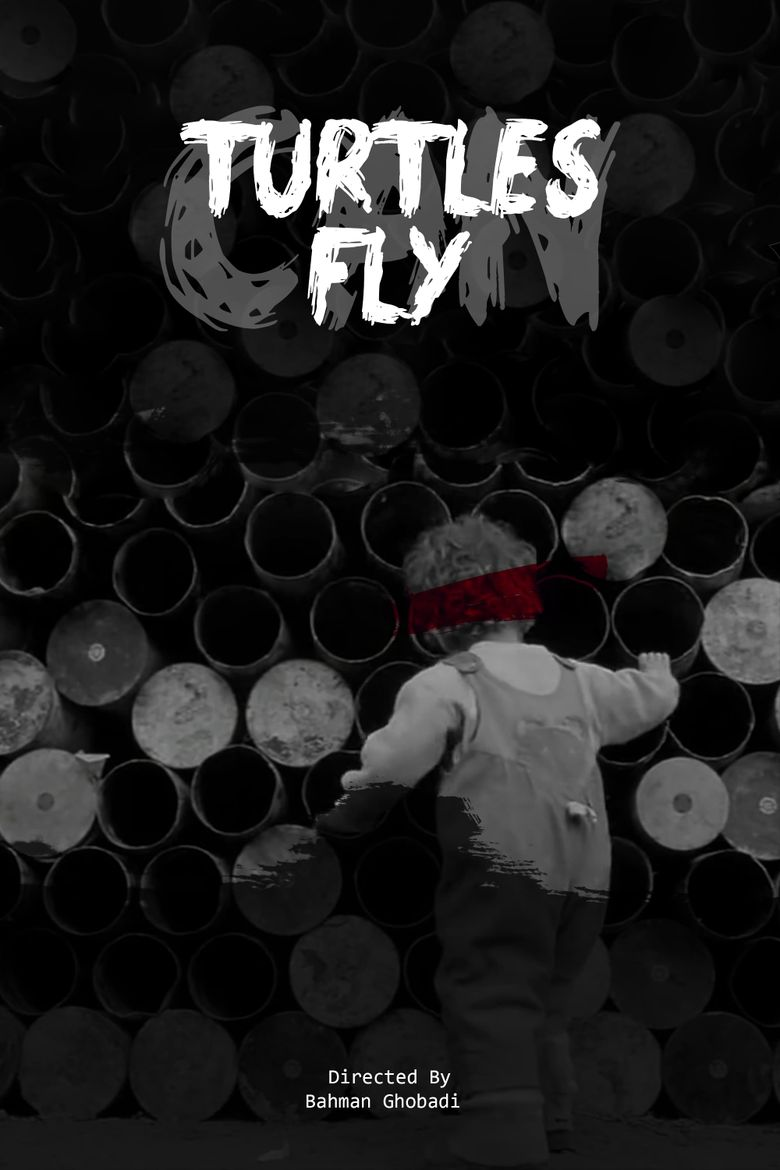 Turtles Can Fly Poster