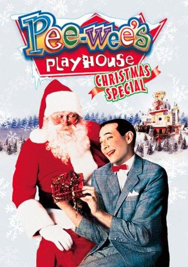 Pee-Wee's Playhouse Christmas Special Poster