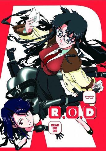 R.O.D - Read or Die Poster