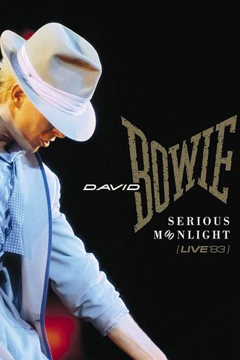 David Bowie:  Serious Moonlight Poster