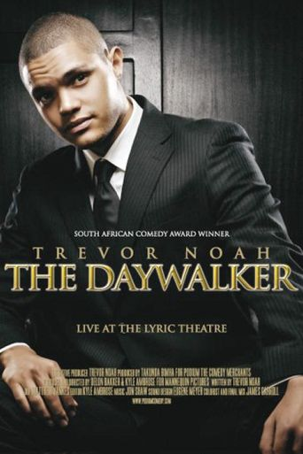 Trevor Noah: The Daywalker Poster