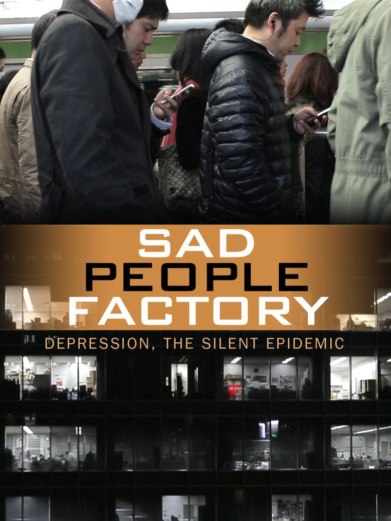 Sad People Factory Poster