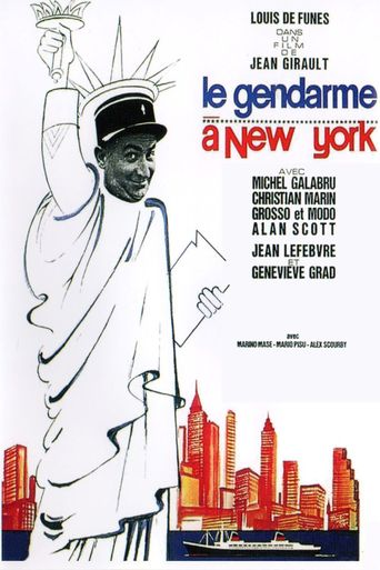 The Gendarme in New York Poster