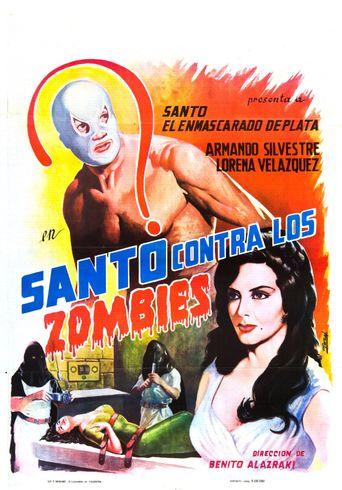 Santo vs. the Zombies Poster