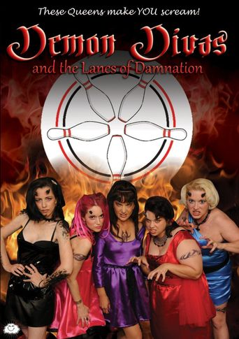Demon Divas and the Lanes of Damnation Poster