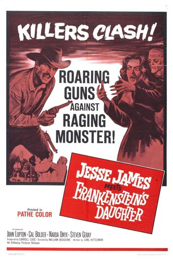 Jesse James Meets Frankenstein's Daughter Poster