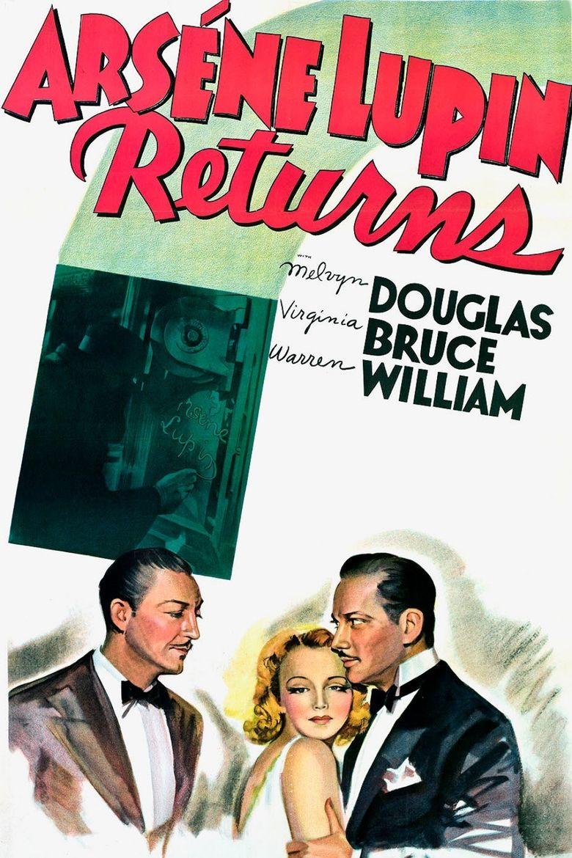 Arsene Lupin Returns Poster