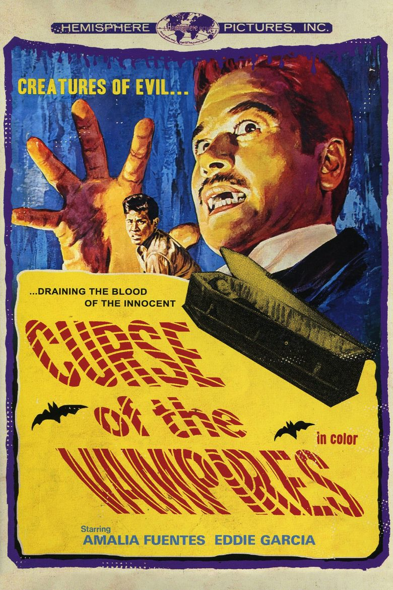 Curse of the Vampires Poster