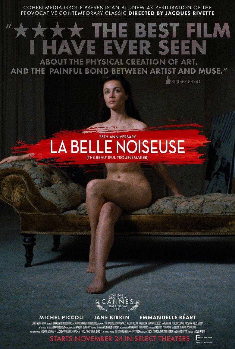 La Belle Noiseuse Poster