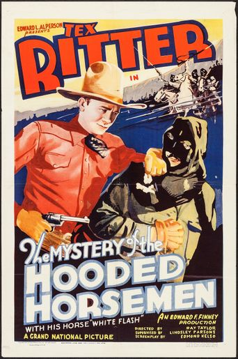 The Mystery of the Hooded Horsemen Poster