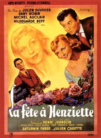 Holiday for Henrietta Poster
