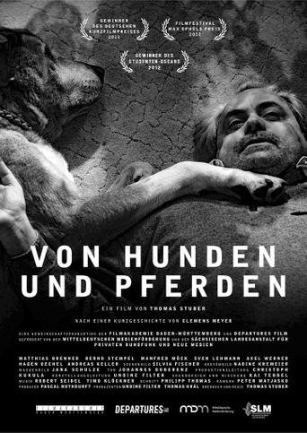 Von Hunden und Pferden Poster