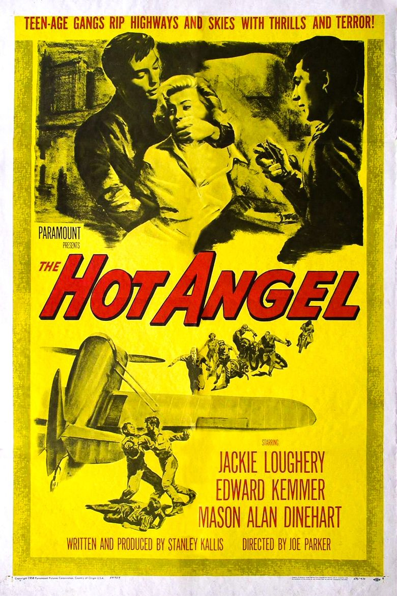The Hot Angel Poster