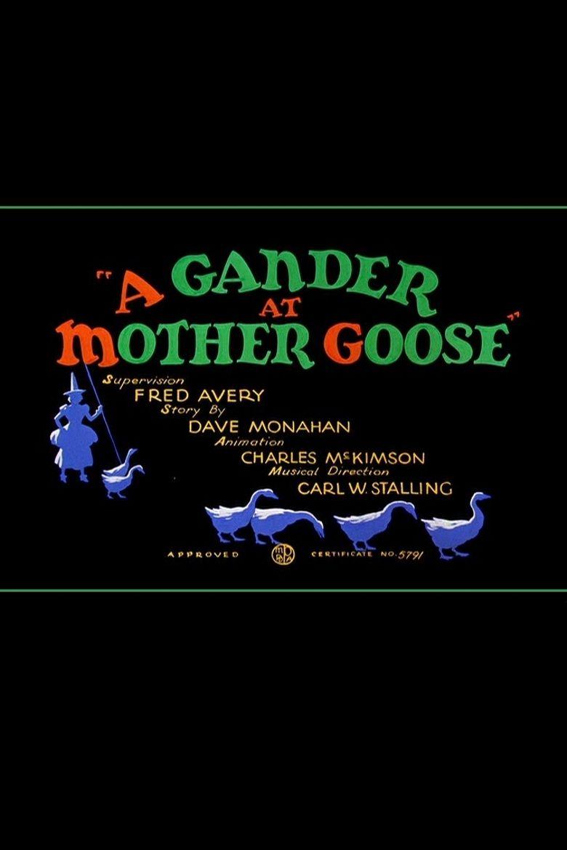 A Gander at Mother Goose Poster