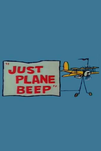 Just Plane Beep Poster