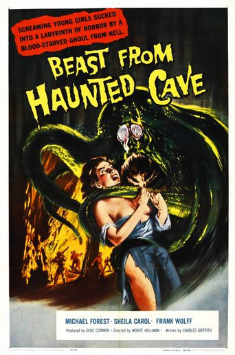 Beast from Haunted Cave Poster