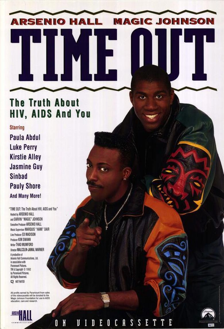 Time Out: The Truth About HIV, AIDS and You Poster