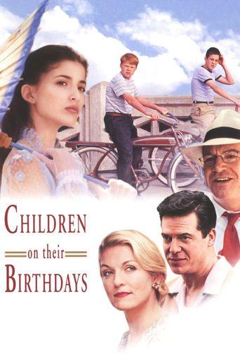 Children on Their Birthdays Poster