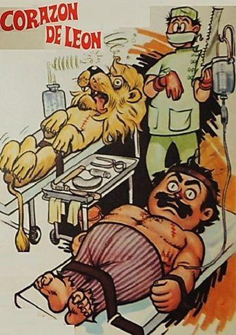 Capulina corazón de leon Poster