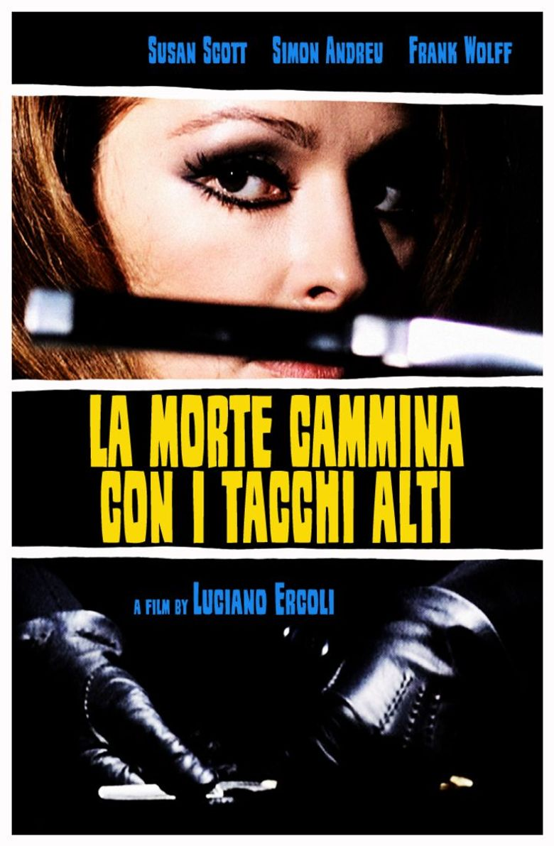 Death Walks on High Heels Poster
