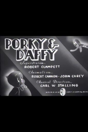 Porky & Daffy Poster