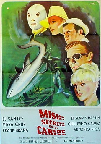 Santo vs. the Killers of the Mafia Poster