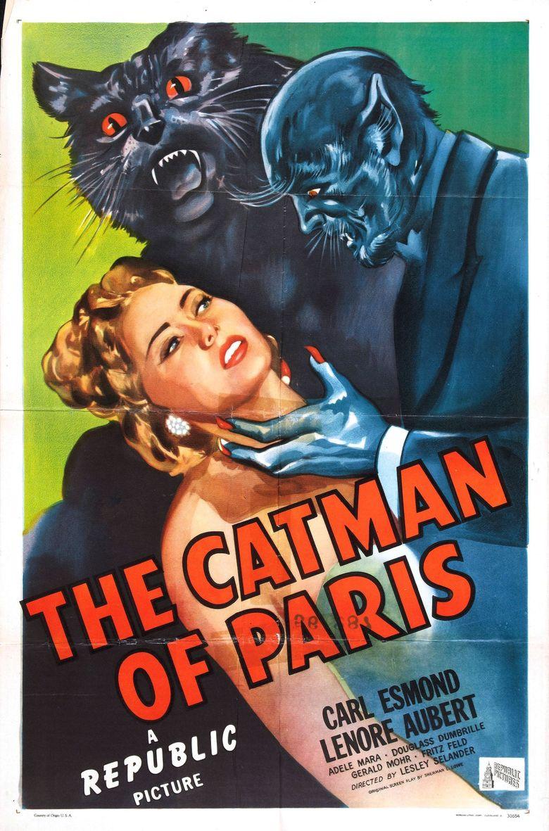 The Catman of Paris Poster