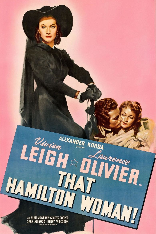 That Hamilton Woman Poster