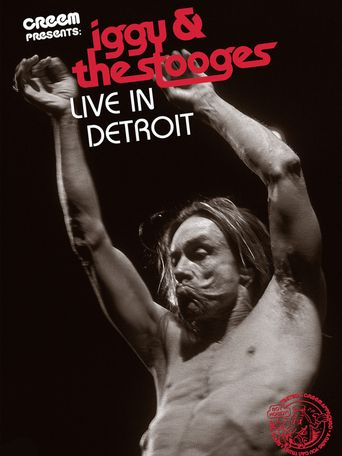 Iggy & the Stooges: Live in Detroit Poster