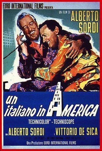Un italiano in America Poster