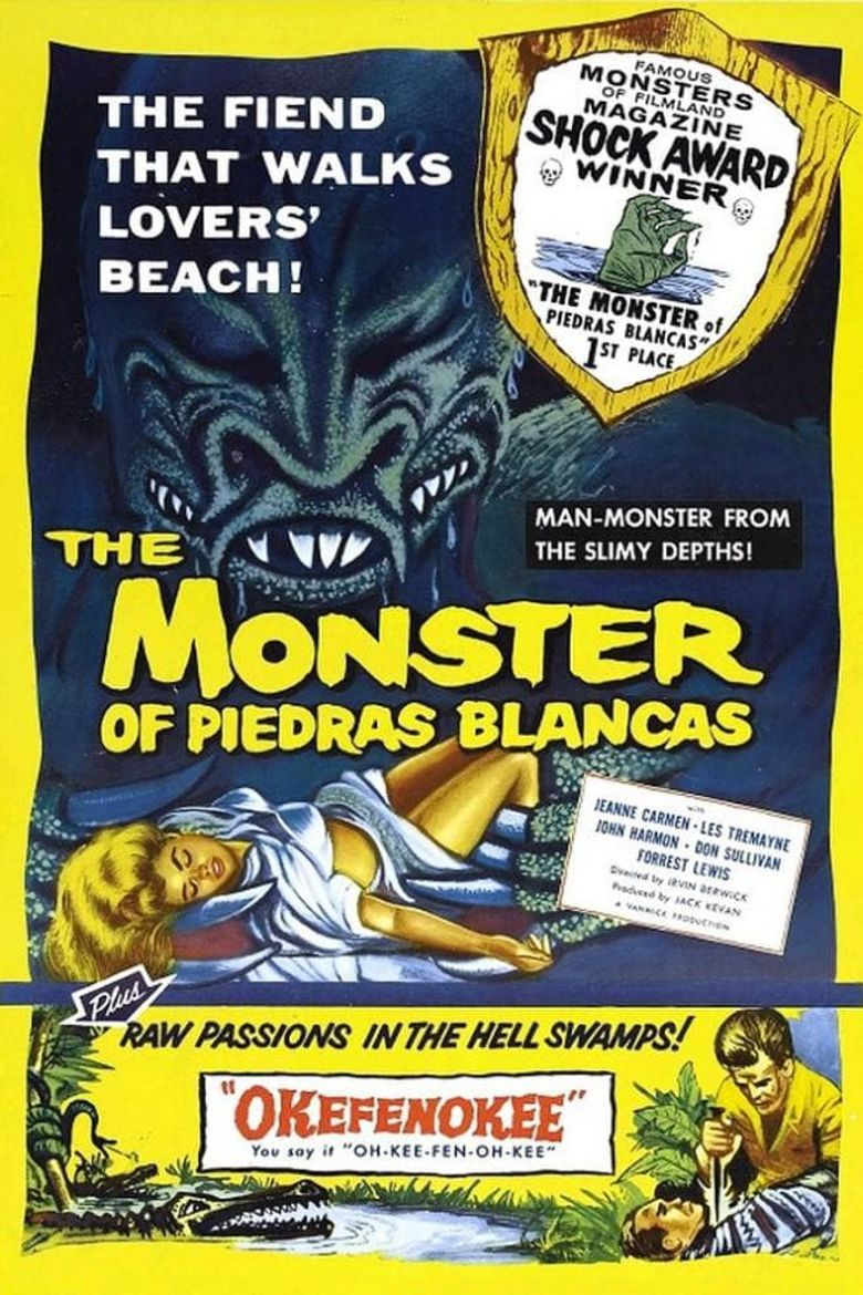The Monster of Piedras Blancas Poster