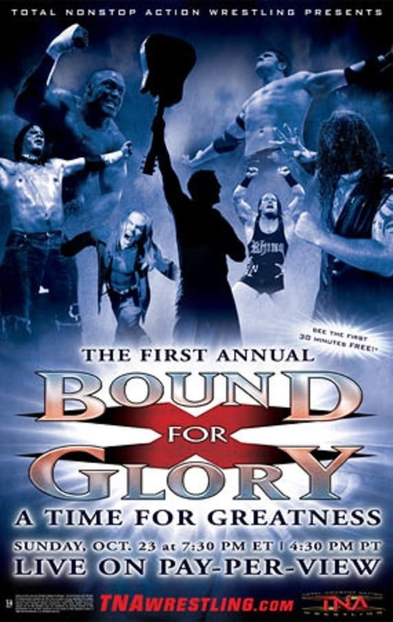 TNA Bound for Glory 2005 Poster