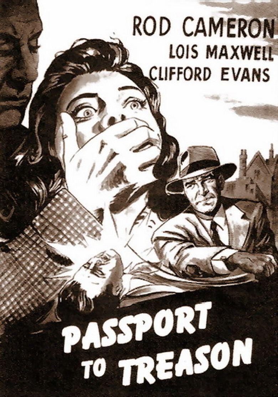 Passport to Treason Poster