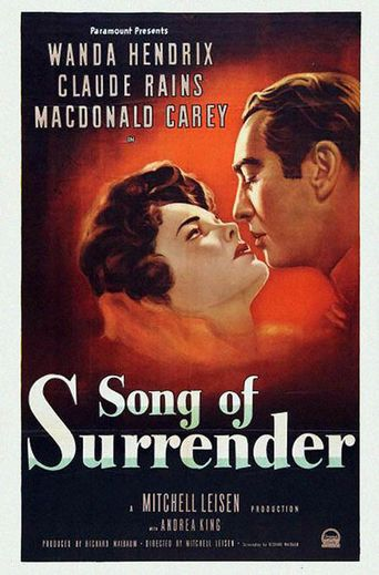 Song of Surrender Poster