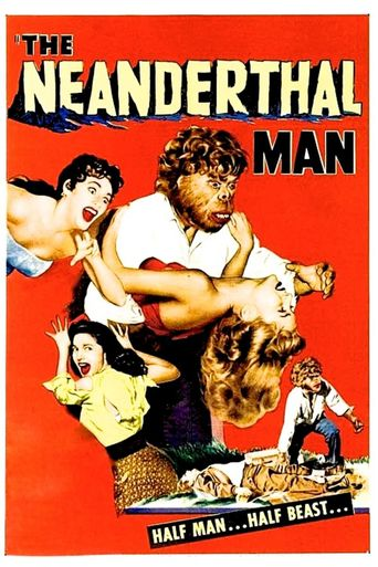 The Neanderthal Man Poster