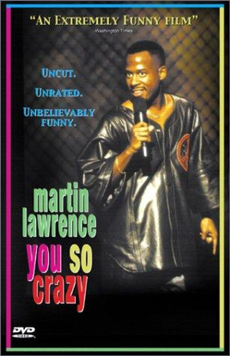 Martin Lawrence: You So Crazy Poster