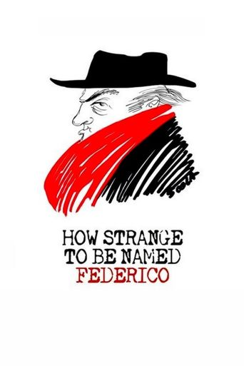 How Strange to be Named Federico Poster