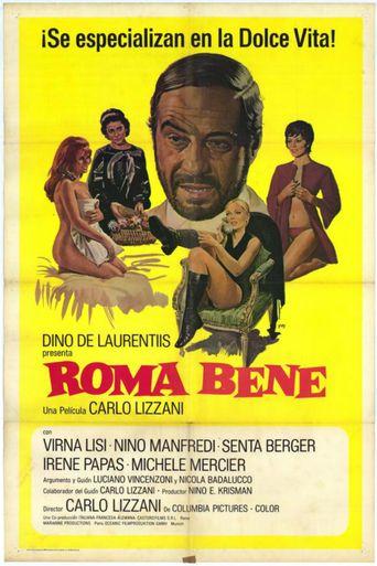 Roma bene Poster