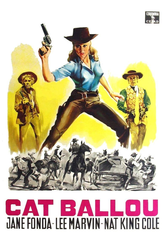 Cat Ballou Poster