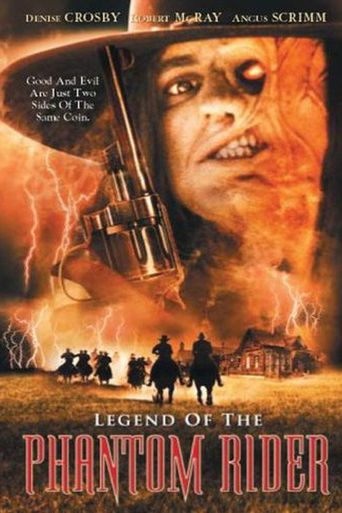 Legend of the Phantom Rider Poster