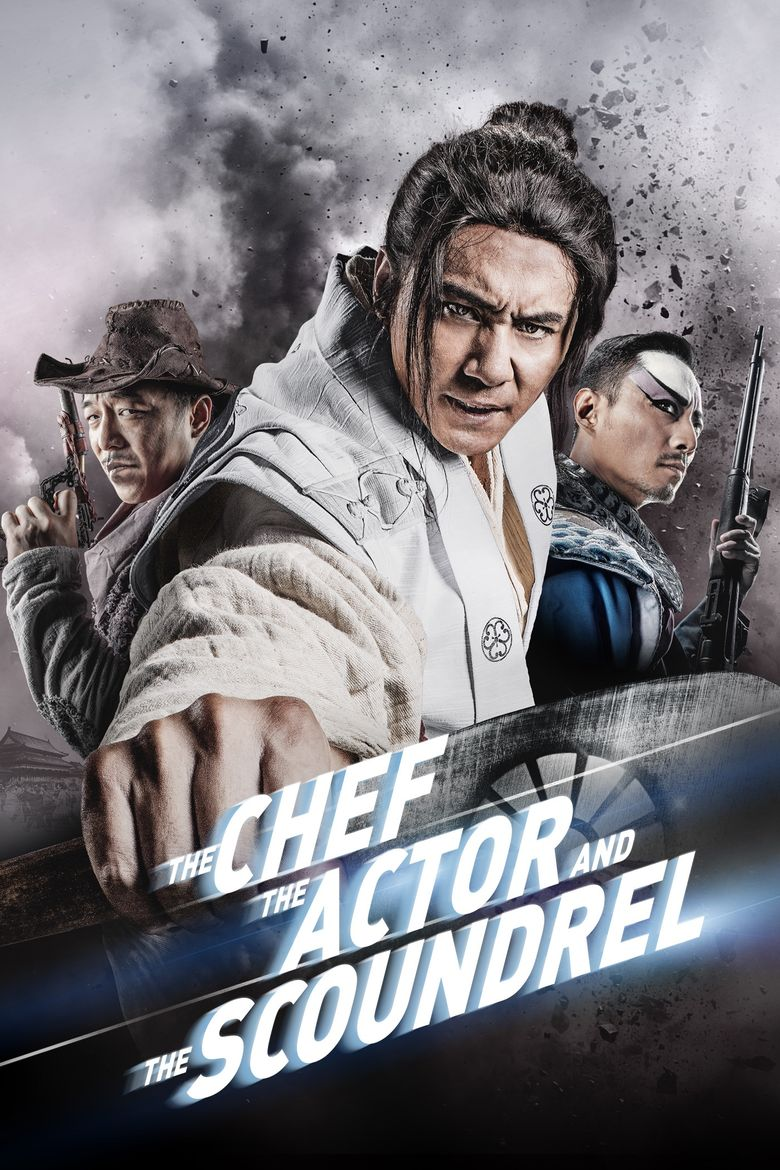 The Chef, The Actor, The Scoundrel Poster
