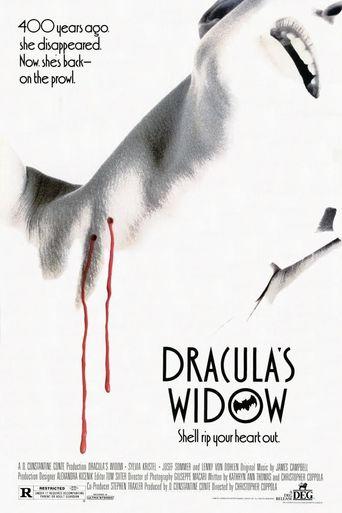 Dracula's Widow Poster
