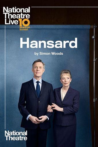 National Theatre Live: Hansard Poster