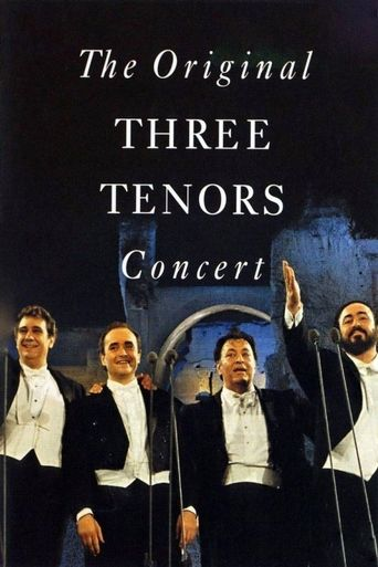 The Original Three Tenors Concert Poster