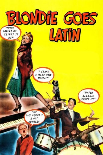 Blondie Goes Latin Poster