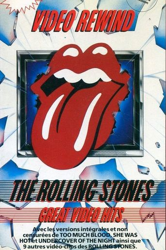 Video Rewind - The Rolling Stones Great Video Hits Poster