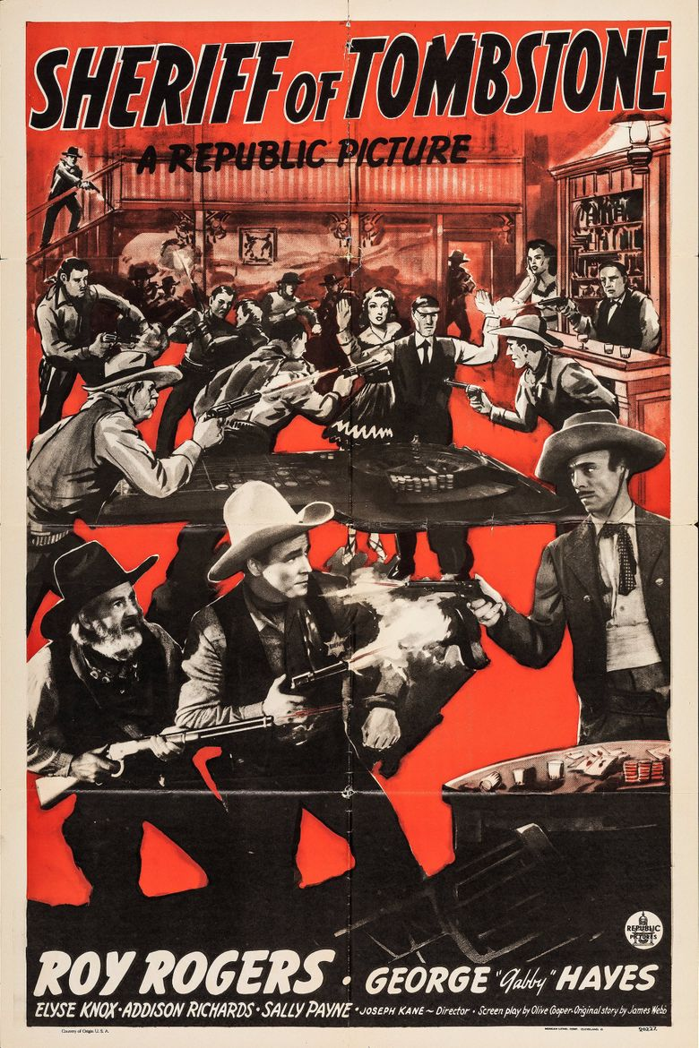 Sheriff of Tombstone Poster