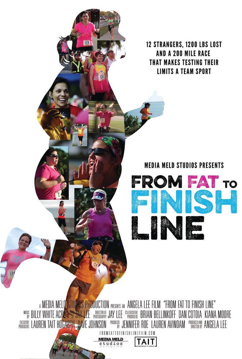 From Fat to Finish Line Poster